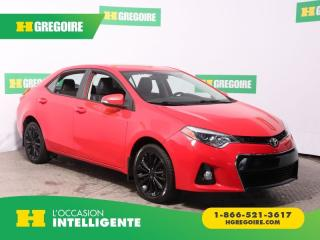 Used 2015 Toyota Corolla S CUIR GR ELECT for sale in St-Léonard, QC