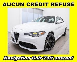 Used 2018 Alfa Romeo Giulia TI SPORT AWD *TOIT OUVRANT* CUIR *NAVIGATION PROMO for sale in Mirabel, QC