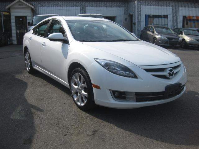 2011 Mazda MAZDA6 GT 2.5L 4cyl Auto FWD AC Sunroof htd leather pl pw