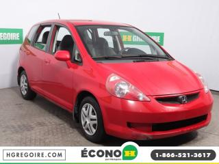Used 2007 Honda Fit LX A/C GR ÉLECT for sale in St-Léonard, QC