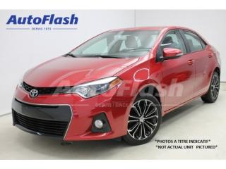 Used 2015 Toyota Corolla S' Sport Toit for sale in St-Hubert, QC
