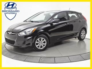 Used 2013 Hyundai Accent GL, SIÈGES CHAUFFANTS, CRUISE, A/C for sale in Brossard, QC