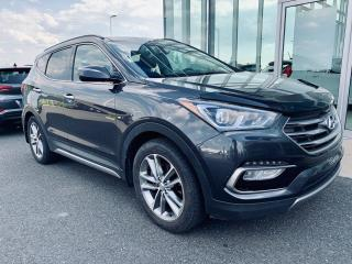 Used 2017 Hyundai Santa Fe Sport 2.0t Ltd + Gps + Awd for sale in Ste-Julie, QC
