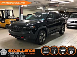 Used 2019 Jeep Cherokee TRAILHAWK ELITE 4X4 *CUIR/TOIT/NAV/CAMER for sale in Vaudreuil-Dorion, QC