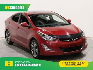 Used 2015 Hyundai Elantra GLS A/C TOIT MAGS for sale in St-Léonard, QC