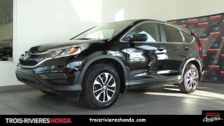 Used 2016 Honda CR-V LX for sale in Trois-Rivières, QC