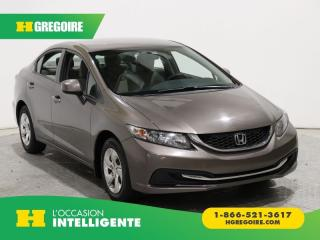 Used 2013 Honda Civic LX A/C GR ÉLECT for sale in St-Léonard, QC
