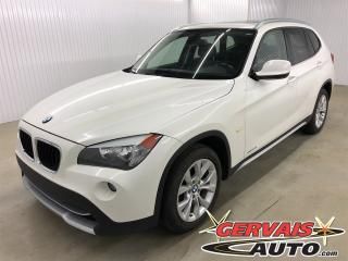 Used 2012 BMW X1 28i Xdrive AWD Cuir Toit panoramique MAGS for sale in Trois-Rivières, QC
