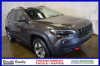 Used 2019 Jeep Cherokee Trailhawk-Elite-Toit pano-Cuir for sale in Cowansville, QC