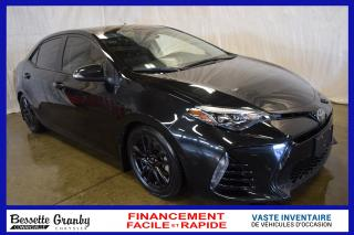Used 2018 Toyota Corolla SE +Manuelle, Caméra, Aucun Carfax+ for sale in Cowansville, QC