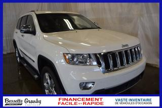 Used 2012 Jeep Grand Cherokee Overland for sale in Cowansville, QC