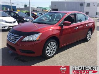 Used 2014 Nissan Sentra 1.8 S CVT ***13 500 KM*** for sale in Beauport, QC