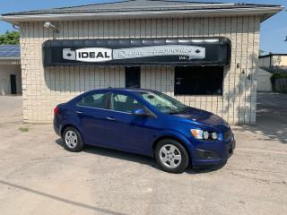 Used 2012 Chevrolet Sonic LT for sale in Mount Brydges, ON