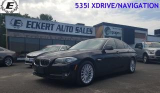 Used 2013 BMW 5 Series 535i xDrive/NAVIGATION/LEATHER for sale in Barrie, ON