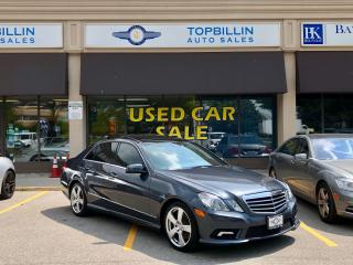 Used 2011 Mercedes-Benz E-Class E 350 4Matic, Fully Loaded for sale in Vaughan, ON