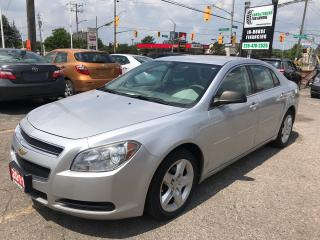 Used 2011 Chevrolet Malibu LS l No Accidents l AC for sale in Waterloo, ON