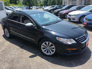 Used 2010 Volkswagen Passat CC/ AUTO/ LEATHER/ SUNROOF/ ALLOYS/ LIKE NEW! for sale in Scarborough, ON
