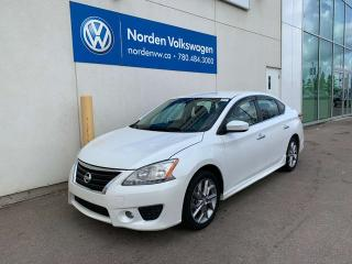 Used 2013 Nissan Sentra SR - RARE! ALLOYS / BLUETOOTH / PUSH START for sale in Edmonton, AB