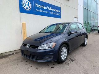 Used 2016 Volkswagen Golf TRENDLINE AUTO W/ CONVENIENCE PKG - HEATED SEATS for sale in Edmonton, AB