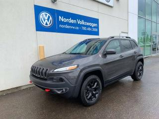 Used 2018 Jeep Cherokee TRAILHAWK 4X4 - LEATHER PLUS+ for sale in Edmonton, AB