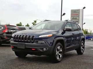 Used 2018 Jeep Cherokee TRAILHAWK 4X4 *V6*CUIR*TOIT PANO* for sale in Brossard, QC