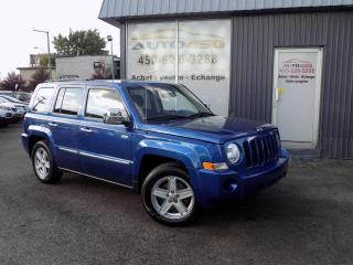 Used 2010 Jeep Patriot ***SPORT,AIR CLIM,AUTOMATIQUE*** for sale in Longueuil, QC