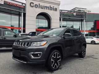 Used 2018 Jeep Compass Limited Nav Sunroof Leather No Accident for sale in Richmond, BC