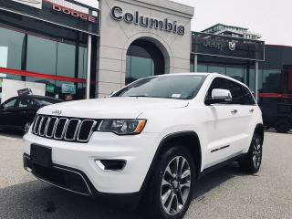 Used 2018 Jeep Grand Cherokee LIMITED- NO ACCIDENT/ LOCAL/ NAV/ LEATHER/ SUNROOF for sale in Richmond, BC