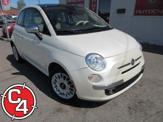 Used 2014 Fiat 500 Lounge Bas Kilo for sale in St-Jérôme, QC
