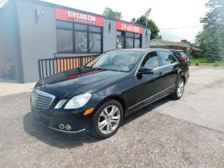 Used 2011 Mercedes-Benz E350 LEATHER*SUROOF*NAVI*4MATIC for sale in St. Thomas, ON