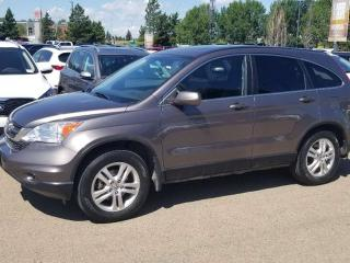 Used 2011 Honda CR-V EX; SUNROOF, CRUISE CONTROL, A/C AND MORE for sale in Edmonton, AB