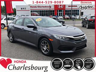 Used 2016 Honda Civic LX **MANUEL**CAMÉRA DE RECUL** for sale in Charlesbourg, QC