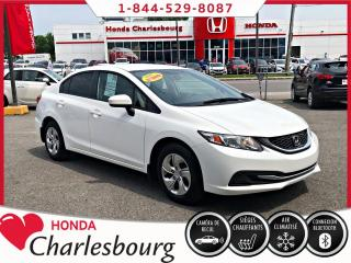 Used 2015 Honda Civic 4 portes, boîte manuelle, LX for sale in Charlesbourg, QC