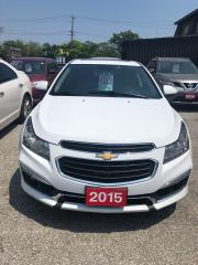 Used 2015 Chevrolet Cruze LTZ,certified for sale in Scarborough, ON