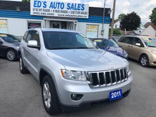 Used 2011 Jeep Grand Cherokee Laredo, 4X4, Leather, Sunroof for sale in St Catharines, ON