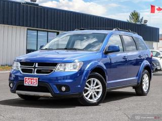 Used 2015 Dodge Journey SXT,7 PASSENGER,B.TOOTH,HEATED SEATS,USB PORT for sale in Barrie, ON