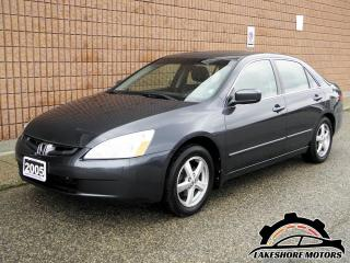 Used 2005 Honda Accord EX-L || CERTIFIED || MANUAL for sale in Waterloo, ON