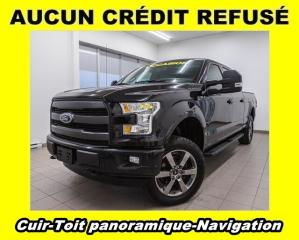 Used 2016 Ford F-150 LARIAT 4X4 SUPERCREW TOIT PANO NAV *CUIR* for sale in Mirabel, QC