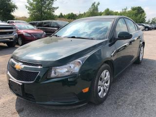Used 2014 Chevrolet Cruze 1LT for sale in Pickering, ON