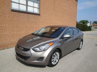 Used 2012 Hyundai Elantra GL **NO ACCIDENT** SAFETY AND WARRANTY INCLUDED for sale in Oakville, ON
