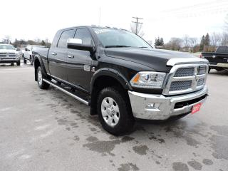 Used 2017 RAM 2500 Longhorn. Diesel. Mega cab. Sunroof. Nav. 1 owner for sale in Gorrie, ON