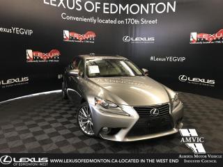 Used 2014 Lexus IS 350 Luxury Package for sale in Edmonton, AB