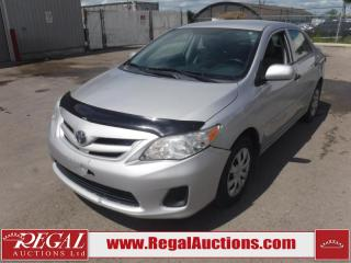 Used 2012 Toyota Corolla CE 4D Sedan AT 1.8L for sale in Calgary, AB