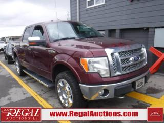Used 2010 Ford F-150 LARIAT 4D SUPERCREW 4WD for sale in Calgary, AB