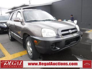 Used 2005 Hyundai Santa Fe GL 4D Utility FWD for sale in Calgary, AB