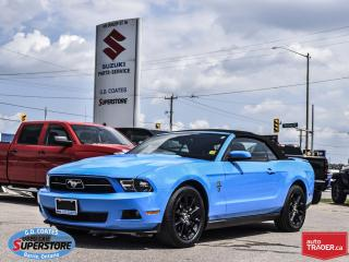 Used 2010 Ford Mustang Convertible ~4.0L V6 ~Leather ~20 Inch Wheels for sale in Barrie, ON