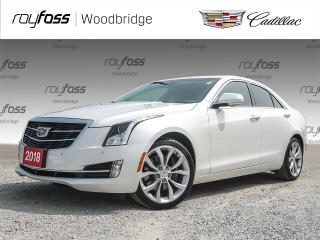 Used 2018 Cadillac ATS SUNROOF, BOSE, V6, AWD for sale in Woodbridge, ON