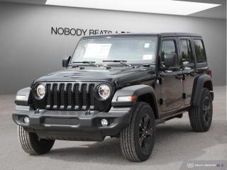 New 2019 Jeep Wrangler UNLIMITED SPORT 4x4 for sale in Mississauga, ON