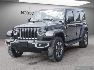 New 2019 Jeep Wrangler Unlimited Sahara 4X4 for sale in Mississauga, ON