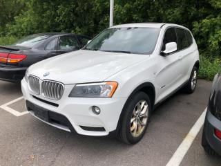 Used 2013 BMW X3 xDrive28i for sale in Pickering, ON